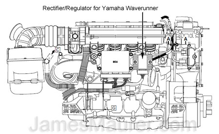Yamaha Waverunner Wont Start Stalls on starter solenoid diagram
